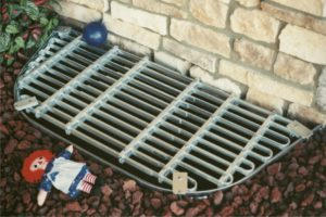 adjust a grate custom fitting window well covers without a high